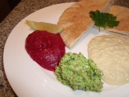 Beetroot Dip / Beet Dip. Photo by Kiwi Kathy