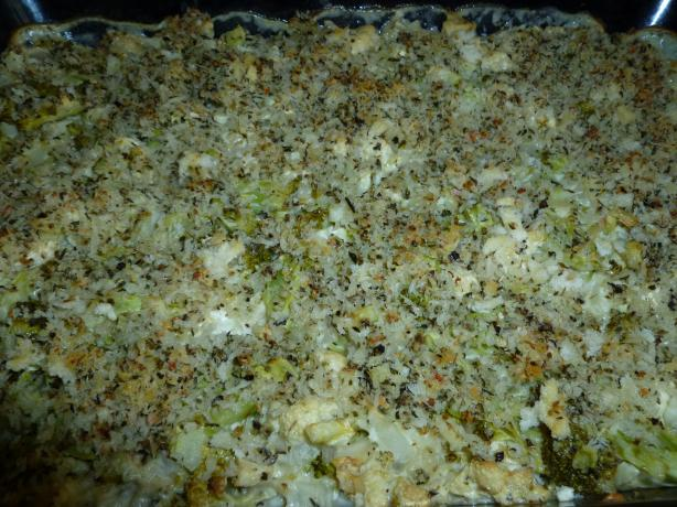 Broccoli Cauliflower Casserole. Photo by Ambervim