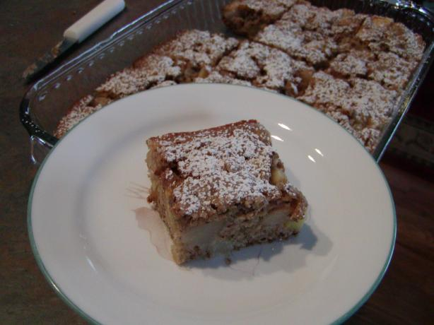 Healthy Apple Pear Cake. Photo by brian48195