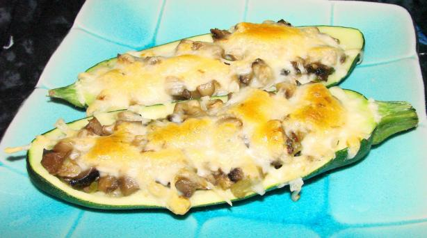 Baked Stuffed Zucchini. Photo by Boomette