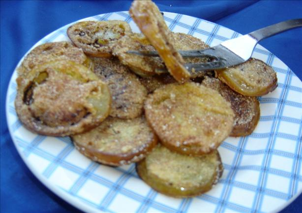 Granny's Fried Green Tomatoes. Photo by lets.eat