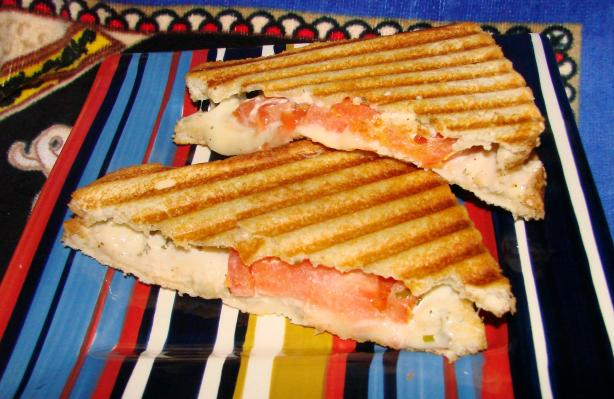 Grilled Cheese With Turkey & Tomato. Photo by Boomette