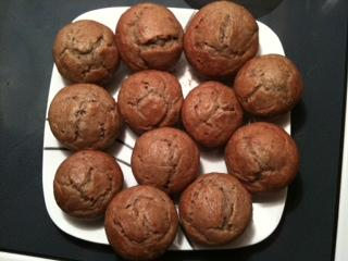 My Favourite Banana Muffins. Photo by KCalderwood