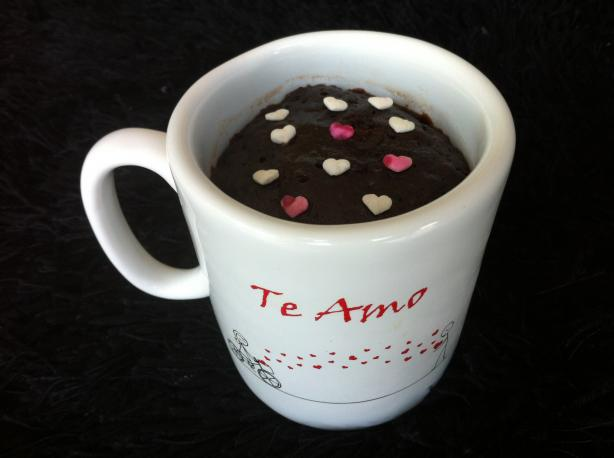 Microwave Chocolate Mug Brownie. Photo by Wabee