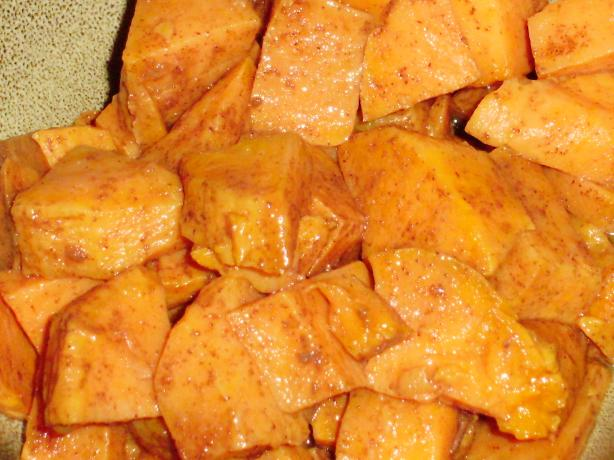 Healthy Fat-Free Glazed Baked Sweet Potatoes (Or Yams). Photo by I Can't Believe It's Healthy