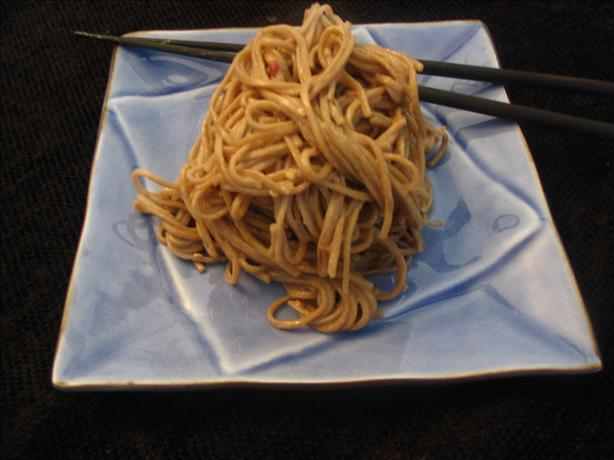 Spicy Cold Soba Noodles. Photo by spatchcock