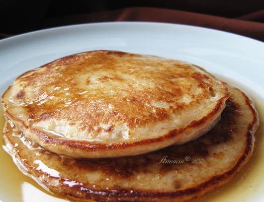 Good for You Multi-Grain Pancakes. Photo by Annacia