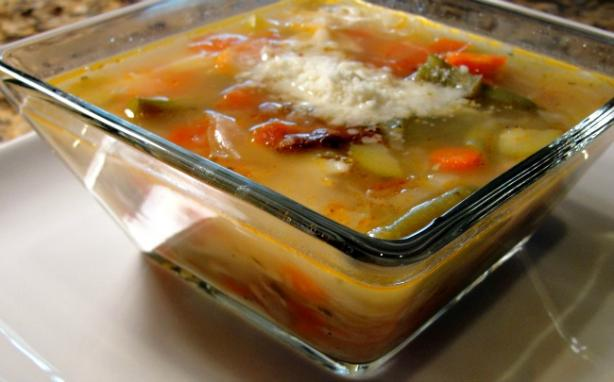Genoese Minestrone. Photo by diner524