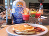 Fluffy Buttermilk Pancakes. Recipe by Jubal Harshaw