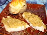 Broiled Sole With Parmesan-Olive Topping