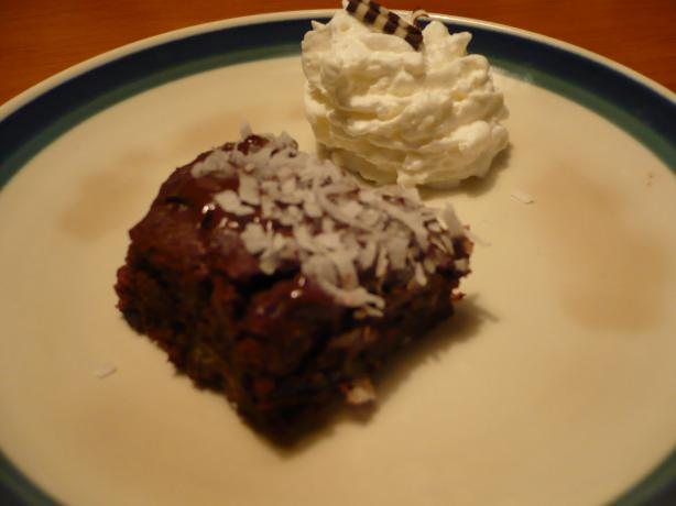Gluten-Free Tropical Brownies. Photo by katii