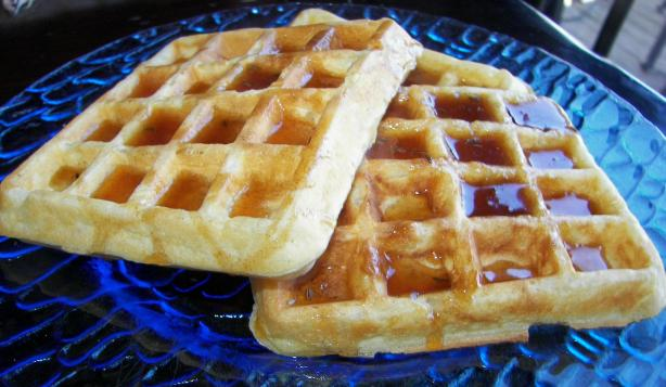 George Washington's Rice Waffles. Photo by Baby Kato