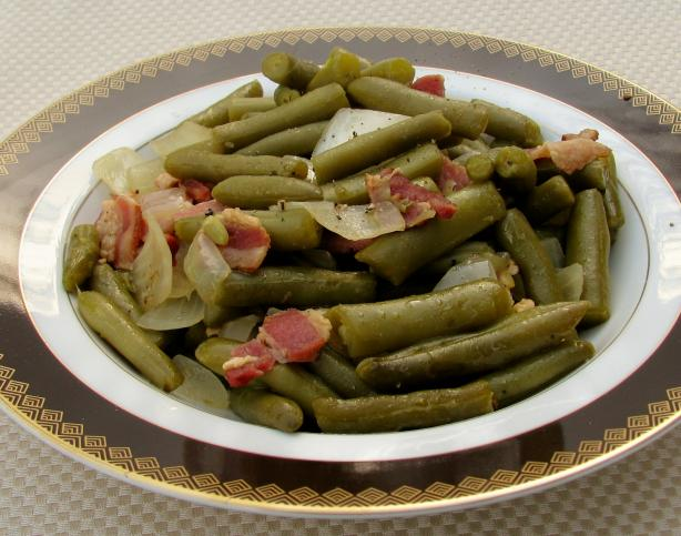 Texas Roadhouse Green Beans (Copycat). Photo by lazyme