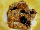 Healthy Low-Fat Baked Berry  and Fruit Oatmeal