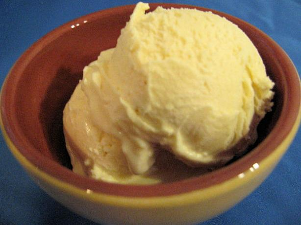 Vanilla Ice Cream - Creamy & Delicious. Photo by Brenda.