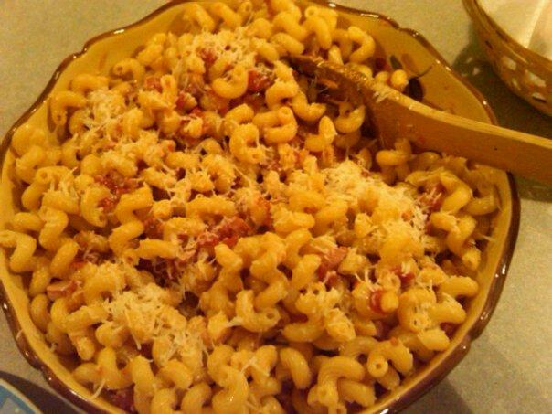Carrabba's Cavatappi Amatriciana (Side Dish Pasta). Photo by mtngurl