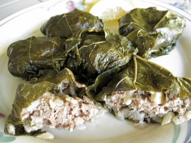 Dolmas (Stuffed Grape Leaves). Photo by WiGal