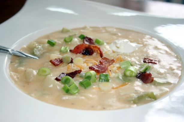 Creamy Potato Soup. Photo by **Tinkerbell**