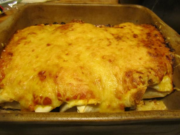 Chicken Enchiladas. Photo by Queen Dana