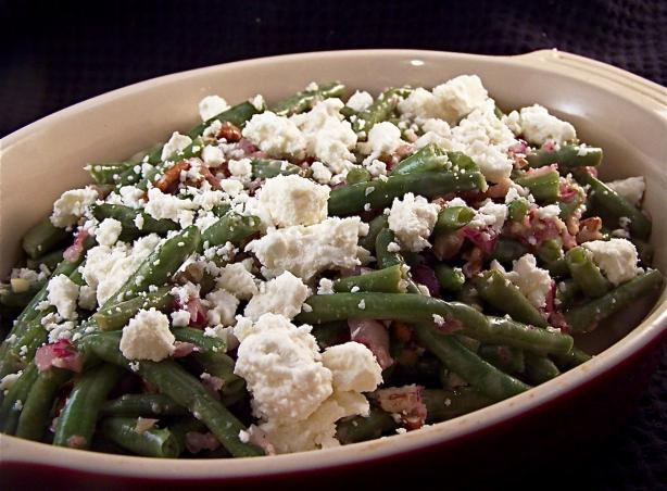 Green Bean Feta Salad. Photo by PaulaG