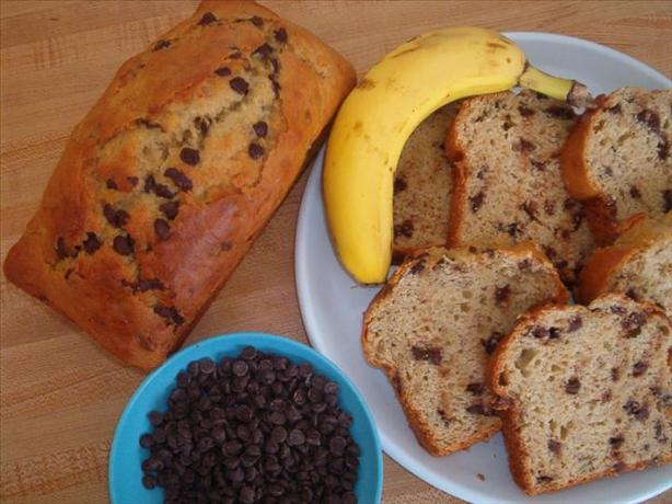 Chocolaty Peanut Butter Banana Bread. Photo by Cooksci