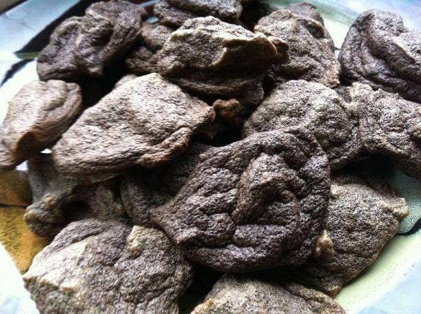 South Beach Diet Friendly Chocolate Meringue Cookies. Photo by FoodDiva2013