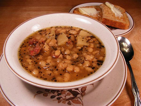 Bill's Super Bowl Navy Bean Soup. Photo by Lavender Lynn