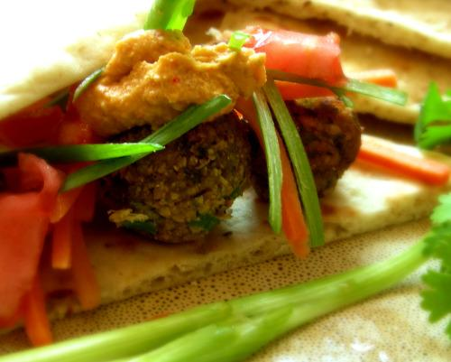 Falafel With a Twist. Photo by Andi of Longmeadow Farm