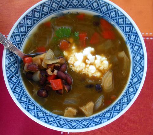 Hearty Black Bean Soup. Photo by Bergy
