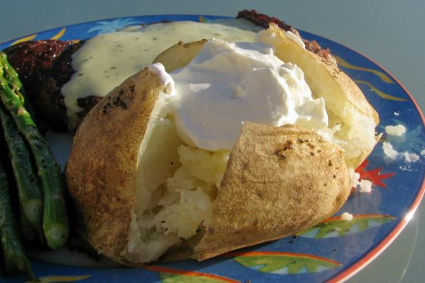 Savory Baked Potatoes. Photo by lazyme