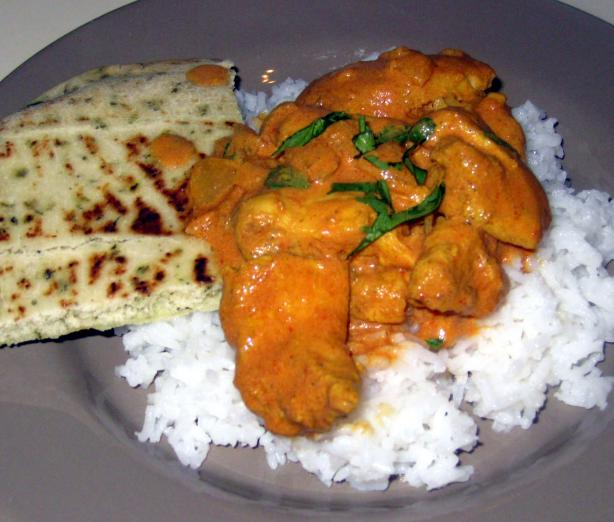 Babzy's  Better Butter Chicken - Ww 4 Points. Photo by Babzy