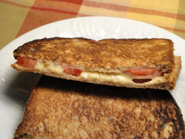 Grilled Cheese & Tomato Panini. Photo by Debbwl