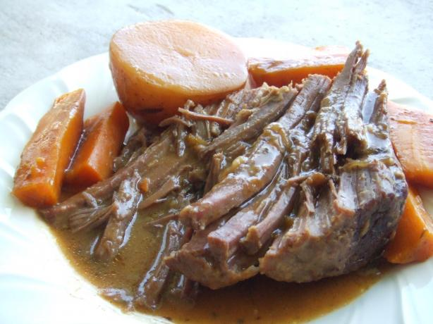 Deliciously Easy Crock-Pot Pot Roast. Photo by Ms.WU