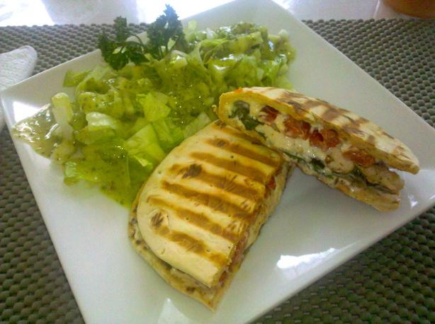 Chicken Pepper Panini. Photo by FrenchBunny