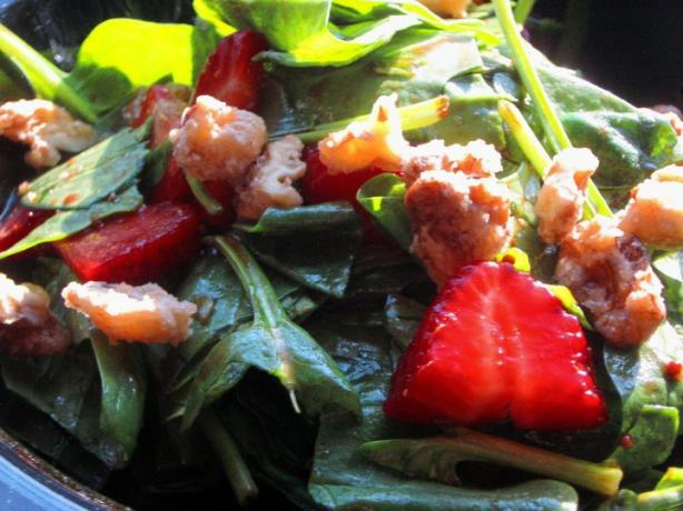 Spinach/Strawberry Salad. Photo by SwedishExpat