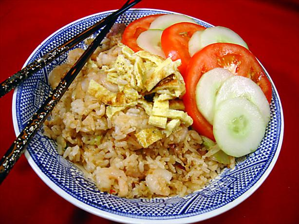 Indonesian Fried Rice - Nasi Goreng. Photo by :(