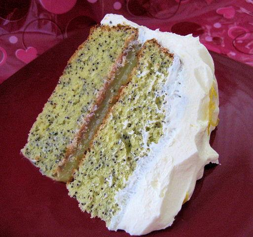 Lindsey's Lemon Poppy Seed Cake. Photo by Brenda.
