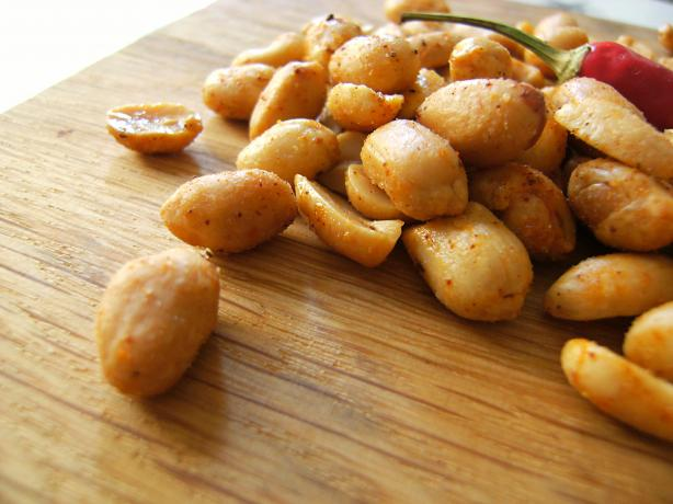 Cajun Peanuts. Photo by Lalaloula