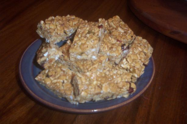 Kashi Golean Granola/Snack Bars   (No Bake). Photo by Motivated Mama