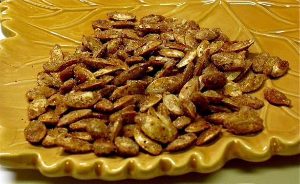 Pumpkin Pie Seeds. Photo by PaulaG
