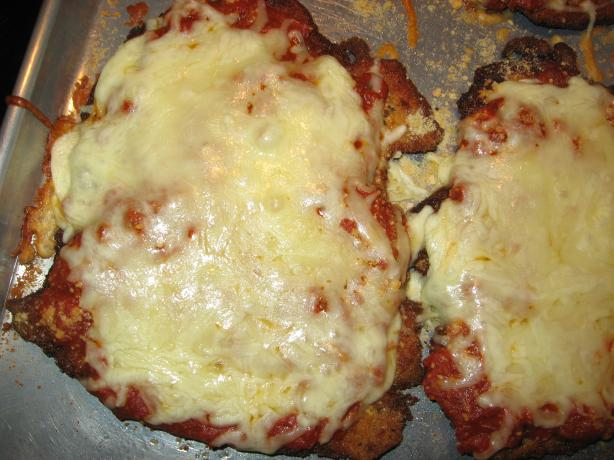 Debbie's Chicken Parmesan. Photo by Mainely Debbie
