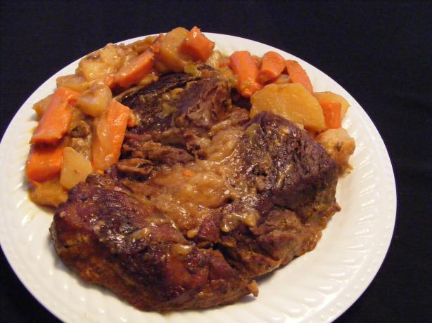 Crock Pot - Best Chuck Roast. Photo by Seasoned Cook