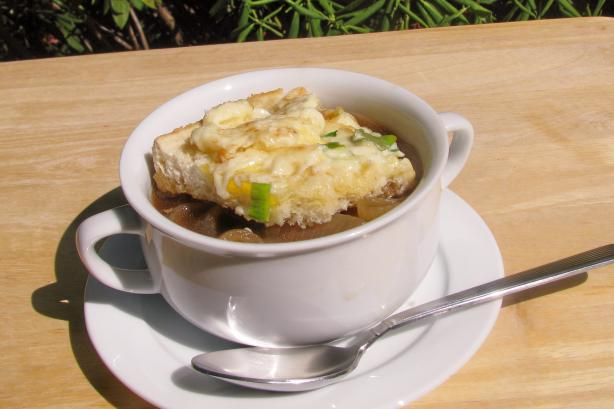 Fast French Onion Soup. Photo by lazyme