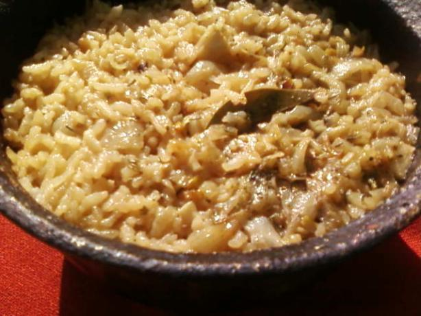 Indian Style Rice Pilaf