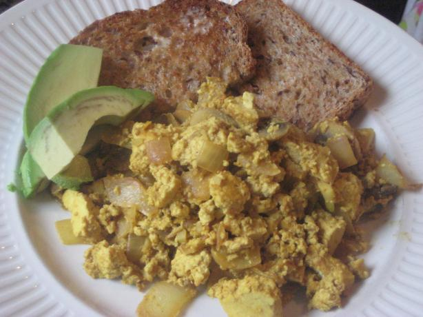 Scrambled Tofu. Photo by magpie diner