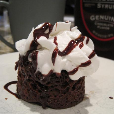 Chocolate  Mug Cake. Photo by jswinks