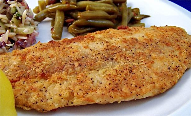 Easy Lightly Fried Fish - Thyme and Spices - Mediterranean. Photo by PaulaG