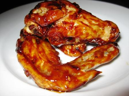 Honey Garlic Chicken Wings. Photo by mlao77