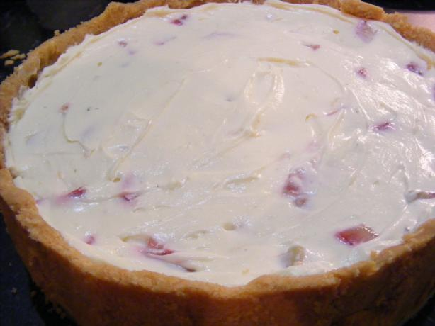Strawberry & White Chocolate Cheesecake. Photo by Sara 76