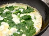 Nif's 1 Ww Pt. Light, Low Fat Spinach and Feta Omelette (Omelet)